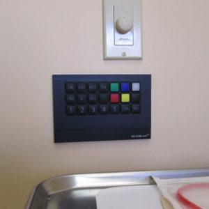 KelKom Panel mounted on office wall